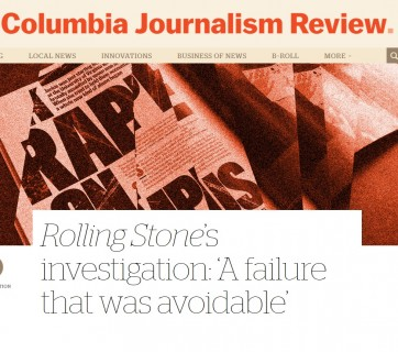Columbia Journalism Review shortcut