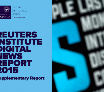 Digital News Report Supplementary
