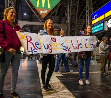 Flüchtlinge_Bahnhof