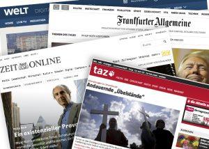 31be8aa6223c23 Die Flüchtlingskrise rüttelte 2015 in Deutschland an den Fundamenten des  Vertrauens in die Medien. 60 Prozent der Deutschen gaben nach einer Studie  von ...