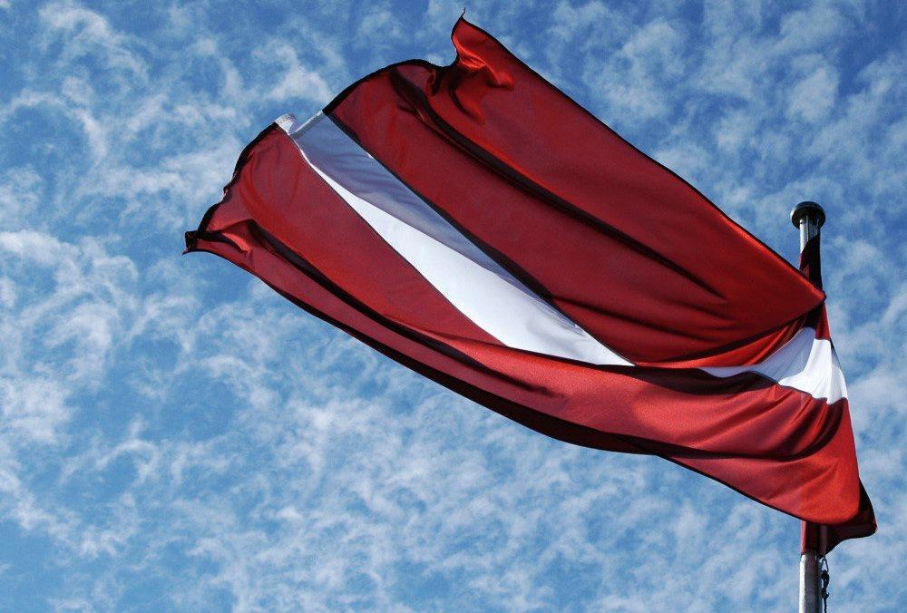 Lettland_Flagge