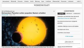 NZZ-Wissenschaft