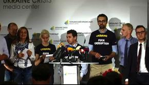 Ukrainian journalists