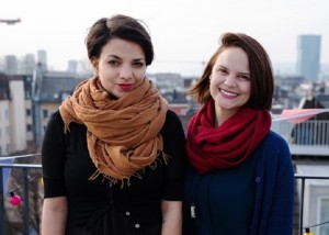 Gabriella Hummel and Laura Brüllmann: Initiantinnen von One Day Portray